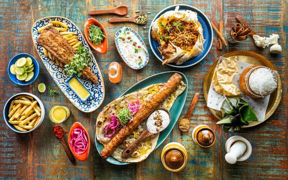 مطعم بومباي دبي