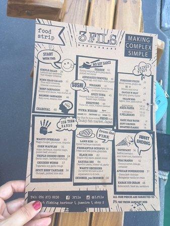 3fils menu