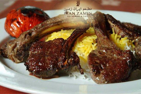 مطعم إيران زمين