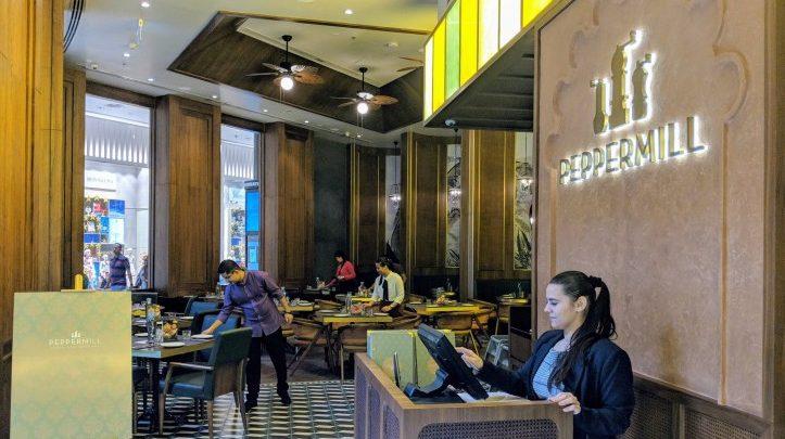 مطعم بيبر ميل دبي