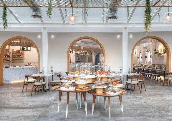 مقهى وصالة المجتمع دبي