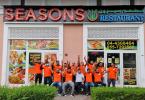 مطعم سيزونز Seasons دبي