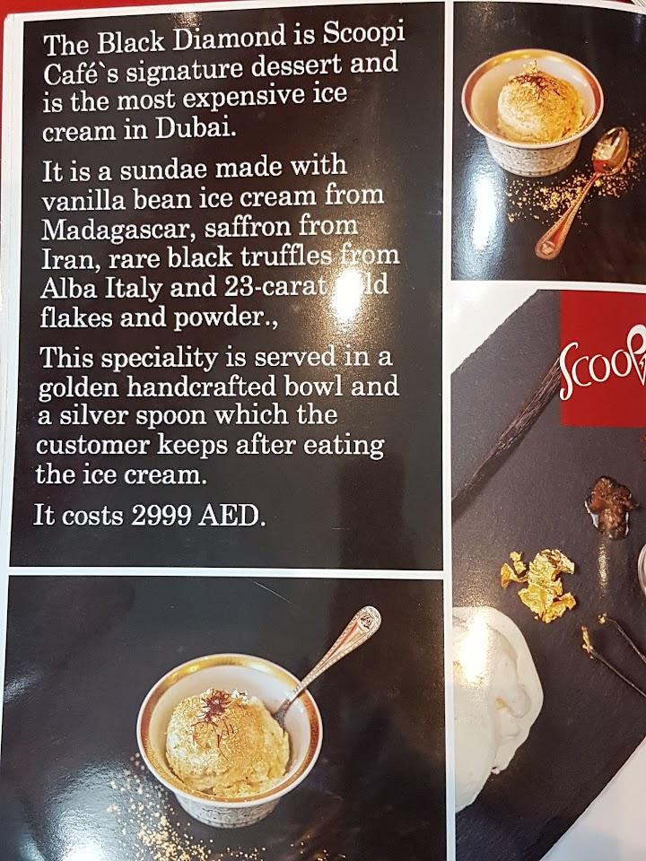 منيو مقهى سكوبي في دبي