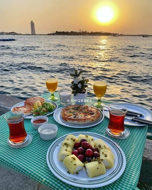 افضل كافيه في دبي مطل علي البحر