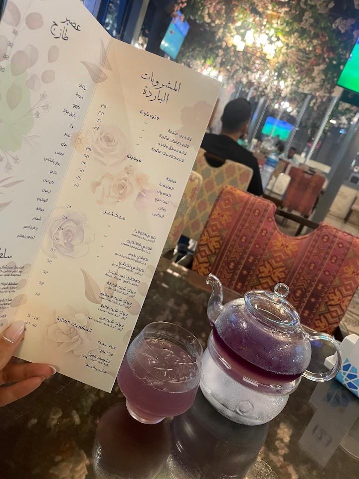 منيو مطعم ومقهى الشرفة دبي