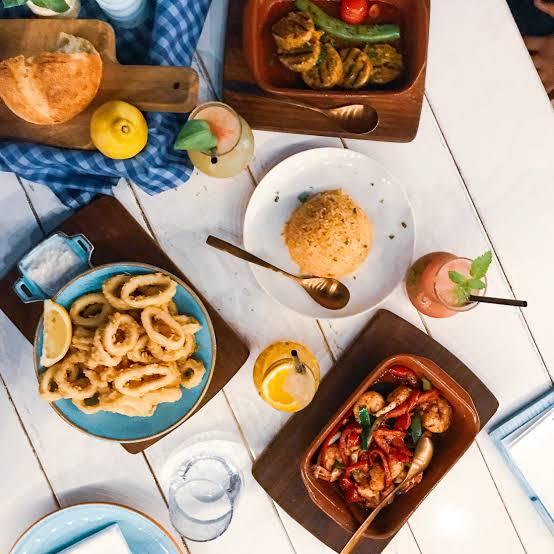 ارقي مطاعم على البحر في دبي